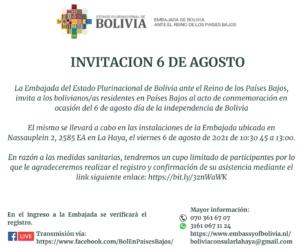 Bolivia 6 de Agosto